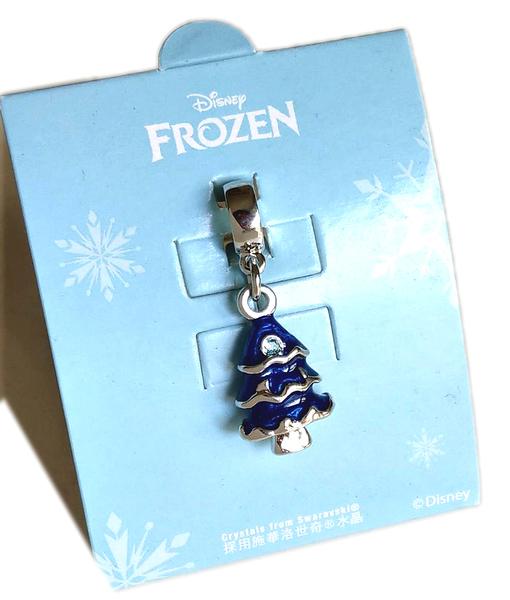 【卡漫城】 冰雪奇緣 串飾 聖誔樹 ㊣版 手環手鍊項鍊 掛飾墜飾 施華洛世奇水晶 鋅合金 禮物 Frozen