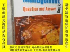 二手書博民逛書店The罕見Project Management Question