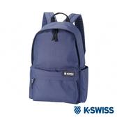 K-SWISS Poly Backpack時尚後背包-深藍