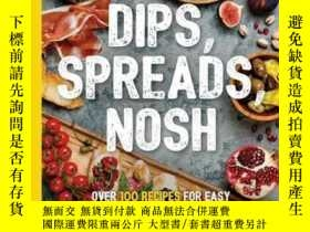 二手書博民逛書店Dips,罕見Spreads, NoshY410016 Kimberly Stevens Sterling P