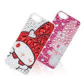 日本 Suncrest MELODY iPhone SE/5S 閃亮水鑽保護殼