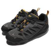 【五折特賣】HI-TEC 戶外鞋 Marcha 灰 黑 黃 低筒設計 登山 健走鞋 男鞋【PUMP306】 O004818052