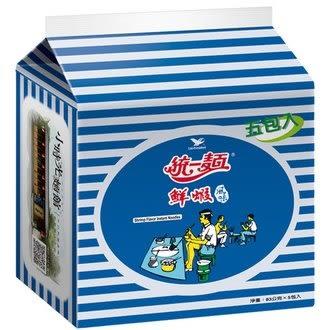 統一麵 鮮蝦風味 83g (5入)/袋【康鄰超市】
