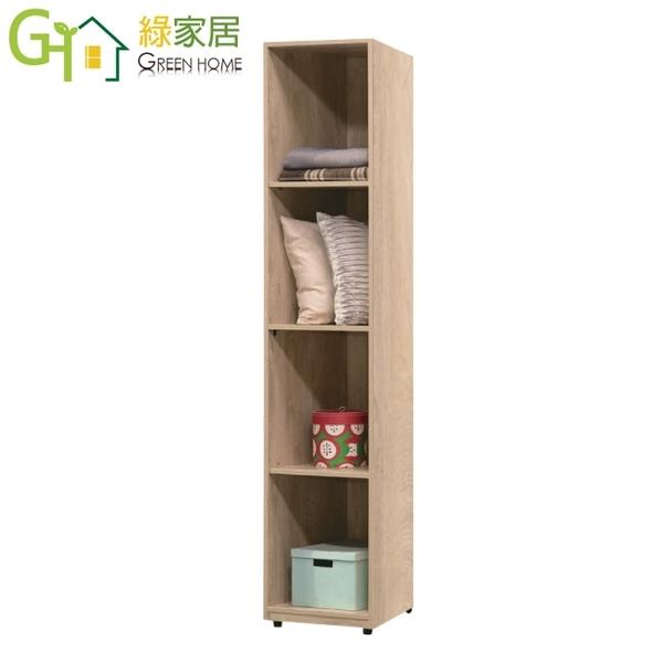 【綠家居】艾絲 現代1.5尺鏡面開放式衣櫃/收納櫃