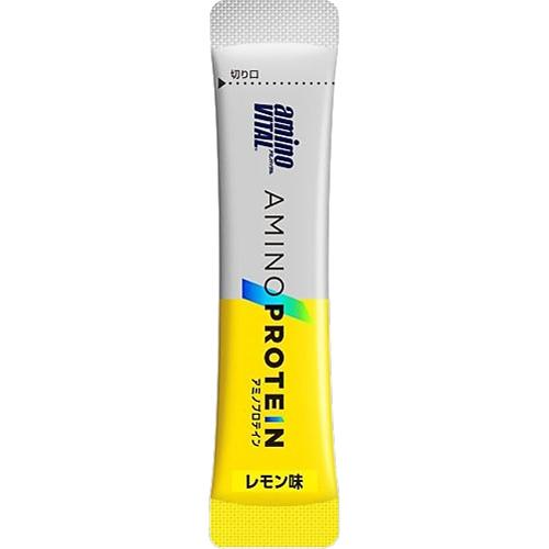 【192544926】(日本味之素 原裝進口)amino VITAL專業級胺基酸乳清蛋白  10pcs | 檸檬口味