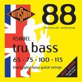 小叮噹的店 英國ROTOSOUND RS88EL (65-115) 電貝斯弦 黑色尼龍 平滑弦 旋弦公司貨