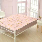 義大利Fancy Belle X DreamfulCat《一起做麵包》防蹣抗菌透氣防水平面式保潔墊-單人