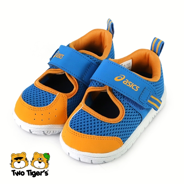 ASICS AMPHIBIAN SUKU2 運動鞋 小童 黃藍 NO.R6773(TUS118-415)