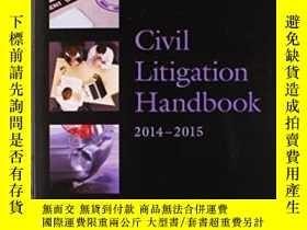 二手書博民逛書店Civil罕見Litigation Handbook 2014-
