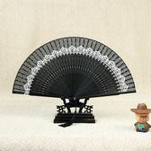 折扇 小女流蘇中國風古典日式款舞蹈絲綢迷你正韓隨身
