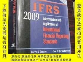 二手書博民逛書店WILEY罕見IFRS 2009:Interpretation