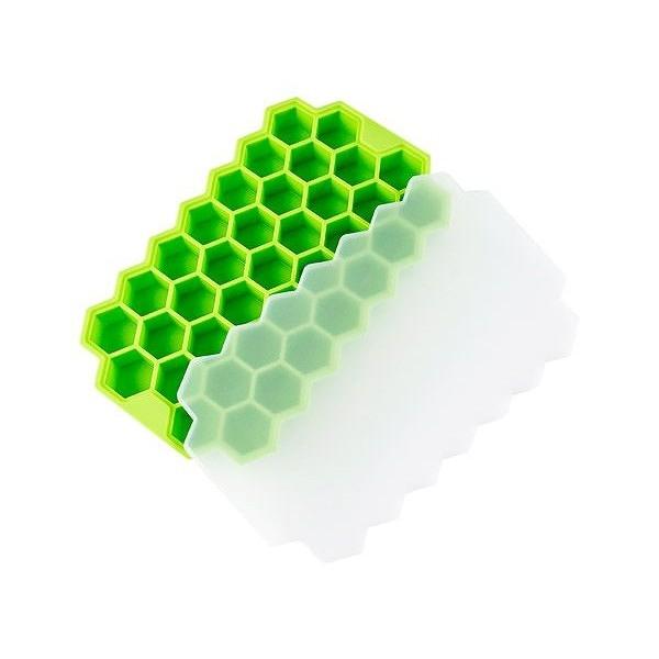 矽膠蜂巢37格製冰器(1入) 顏色隨機出貨【小三美日】
