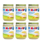 喜寶 Hipp 天然蔬菜雞肉湯190g*6罐[衛立兒生活館]