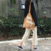 女性直筒褲女 新款韓版百搭寬鬆休閒學生純色高腰顯瘦闊腿 珍妮寶貝