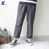 【三折特賣】American Bluedeer - 日系鬆緊帶休閒褲(魅力價) 秋冬新款