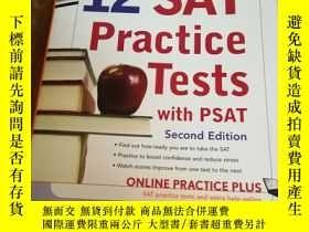 二手書博民逛書店罕見-Hill s 12 SAT Practice Tests
