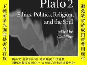 二手書博民逛書店【罕見】Plato 2: Ethics Politics Rel