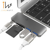 Innowatt USB 3.1 Type-C 多功能集線器 (灰)