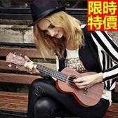 烏克麗麗ukulele-小花繪畫椴木合板23吋四弦琴樂器5款69x10【時尚巴黎】