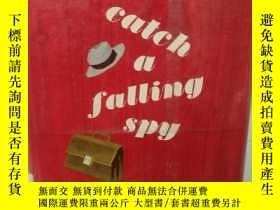 二手書博民逛書店納撒尼爾·本奇利罕見Catch a falling spy by