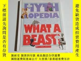 二手書博民逛書店WHAT罕見A BEAST(書名以圖片爲準)小16開Y23707