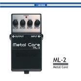 【非凡樂器】BOSS ML-2 破音效果器 /公司貨保固
