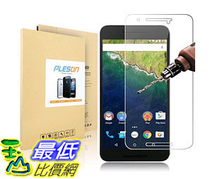 [105美國直購] 螢幕保護膜 Nexus 6P Screen protector Tempered Glass Screen Protector 2.5D Ultra B017EE2L7O