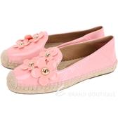 MARC JACOBS Daisy 立體小雛菊草編鞋(粉色) 1840043-05