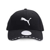 PUMA VISOR 印字棒球帽 黑 022824-01