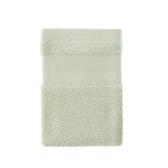 輕柔美國棉方巾-綠 34x34cm