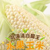 【愛上新鮮】北海道白龍王水果玉米1箱組(8支/箱)
