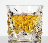 水晶玻璃威士忌杯洋酒杯啤酒杯白酒烈酒雞尾酒方形家用水杯子套裝夢想巴士