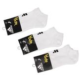 【三雙一組】adidas 襪子 白 黑 透氣 舒適 基本款 休閒 踝襪 運動襪【ACS】 616020_3