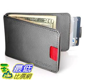 [105美國直購] Distil Union 皮夾 黑灰棕三色 Original Wally Bifold Slim Leather Billfold Wallet and Money Clip