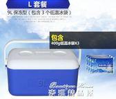凍奶母乳運輸箱保溫冷藏箱保冰塊冰桶疫苗保冷保鮮釣魚外賣箱igo  麥琪精品屋