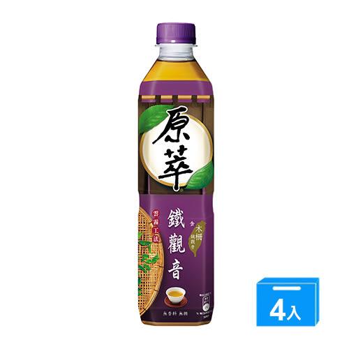 原萃鐵觀音580MLx4【愛買】