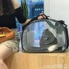熱賣寵物外出包貓包寵物包貓咪外出便攜包透明太空貓籠艙狗狗包透氣貓袋子貓背包LX  coco