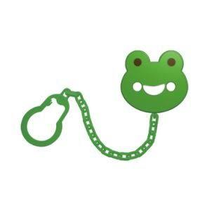 Kaeru哈皮蛙 造型安全奶嘴鍊