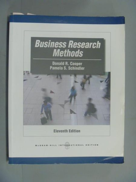 【書寶二手書T4/大學商學_XGH】Business Research Methods_Cooper,etc