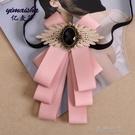領結 億麥莎新款領結復古英倫學院風蝴蝶結領結領花男女通用款襯衫配飾