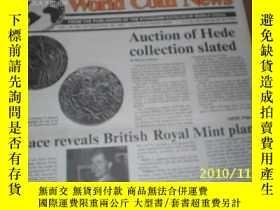 二手書博民逛書店World罕見Coin News(Vol.18,No.19)(S