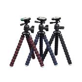 相機腳架八爪魚三腳架自拍桌面手機抖音多功能主播夾 適用gopro 玩趣3C