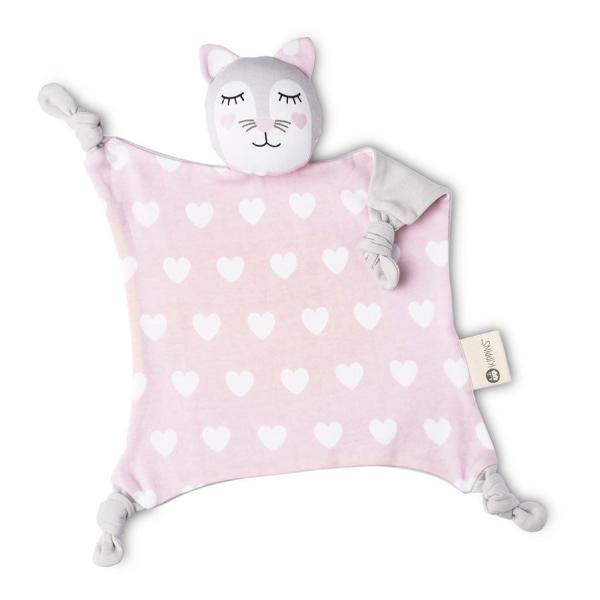 澳洲 Kippins 有機棉安撫巾 凱蒂小貓
