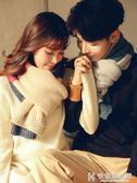 男士圍巾冬季情侶圍巾一對男女士韓版百搭簡約戀人學生年輕人毛線保暖圍脖 快意購物網