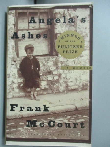 【書寶二手書T7/原文小說_MOC】Angela s Ashes_Frank McCourt