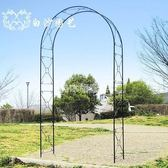 花架-寬1.1米拱門花架爬藤架鐵線蓮鐵藝園藝支架出口古典·樂享生活館liv