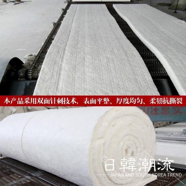 隔音棉  保溫棉硅酸鋁陶瓷纖維毯針刺毯甩絲無石棉鍋爐防火隔熱耐高溫材料