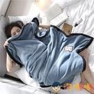 空調小毛毯被子沙發辦公室午睡單人珊瑚絨午休蓋毯子【淘嘟嘟】
