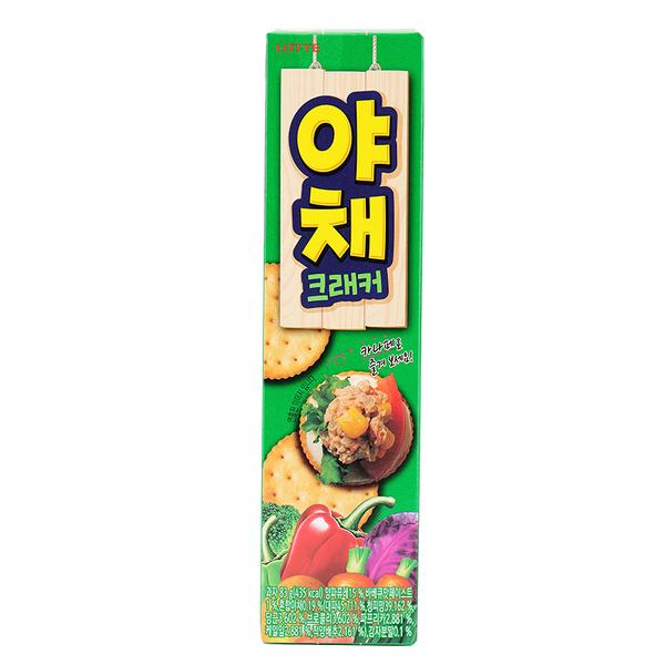 韓國 LOTTE 樂天蔬菜餅乾 83g【庫奇小舖】
