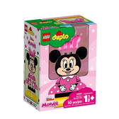【LEGO 樂高 積木】LT-10897 得寶 Duplo 我的第一套米妮拼圖 My First Minnie Build(10pcs)
